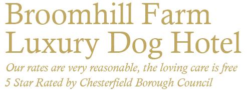 Luxury Dog Boarding Kennels Sheffield logo